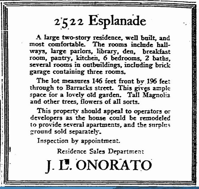 2522 Esplanade